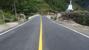 Mejoramiento y pavimentación de la vía
